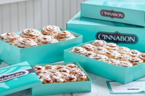 Cinnabon Will Now Deliver Cinnamon Buns to Your Doorstep So You Never Have to Leave the House Again Cinnabon Will Now Deliver Cinnamon Buns to Your Doorstep So You Never Have to Leave the House Again new pictures