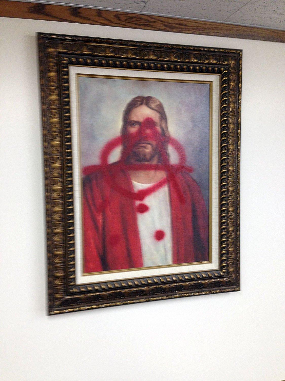 Mormon Meetinghouse Vandalism