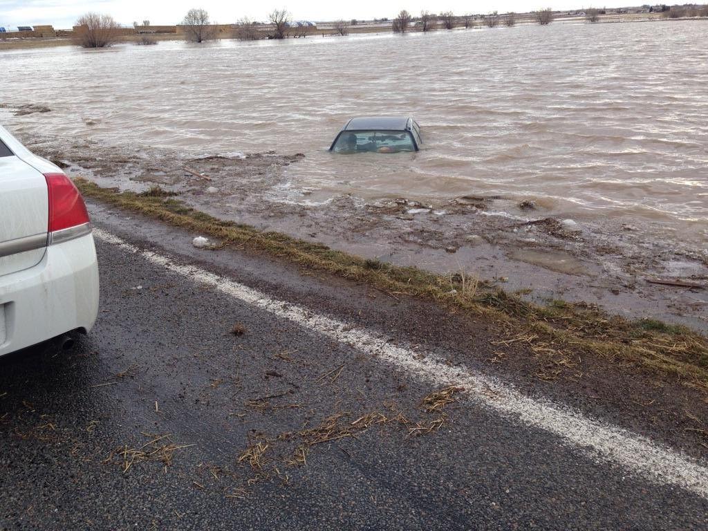 Flooded car Feb 9 2017