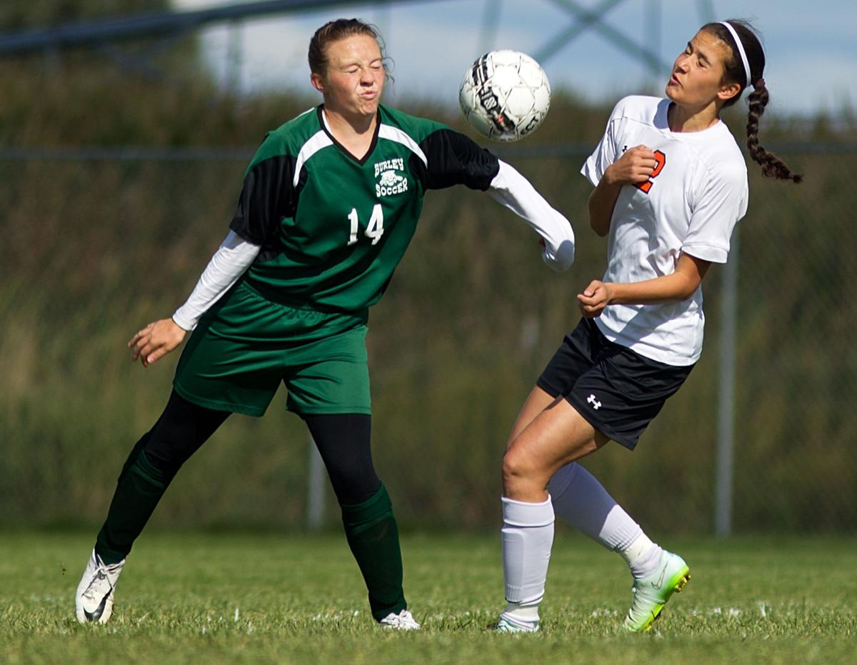 Burley vs. Jerome girls soccer (copy)