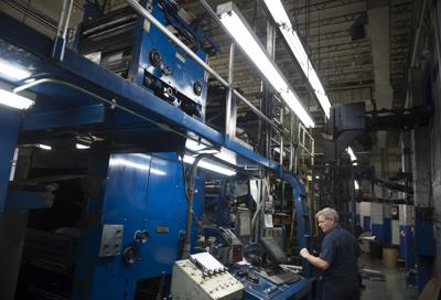 Times-News press room