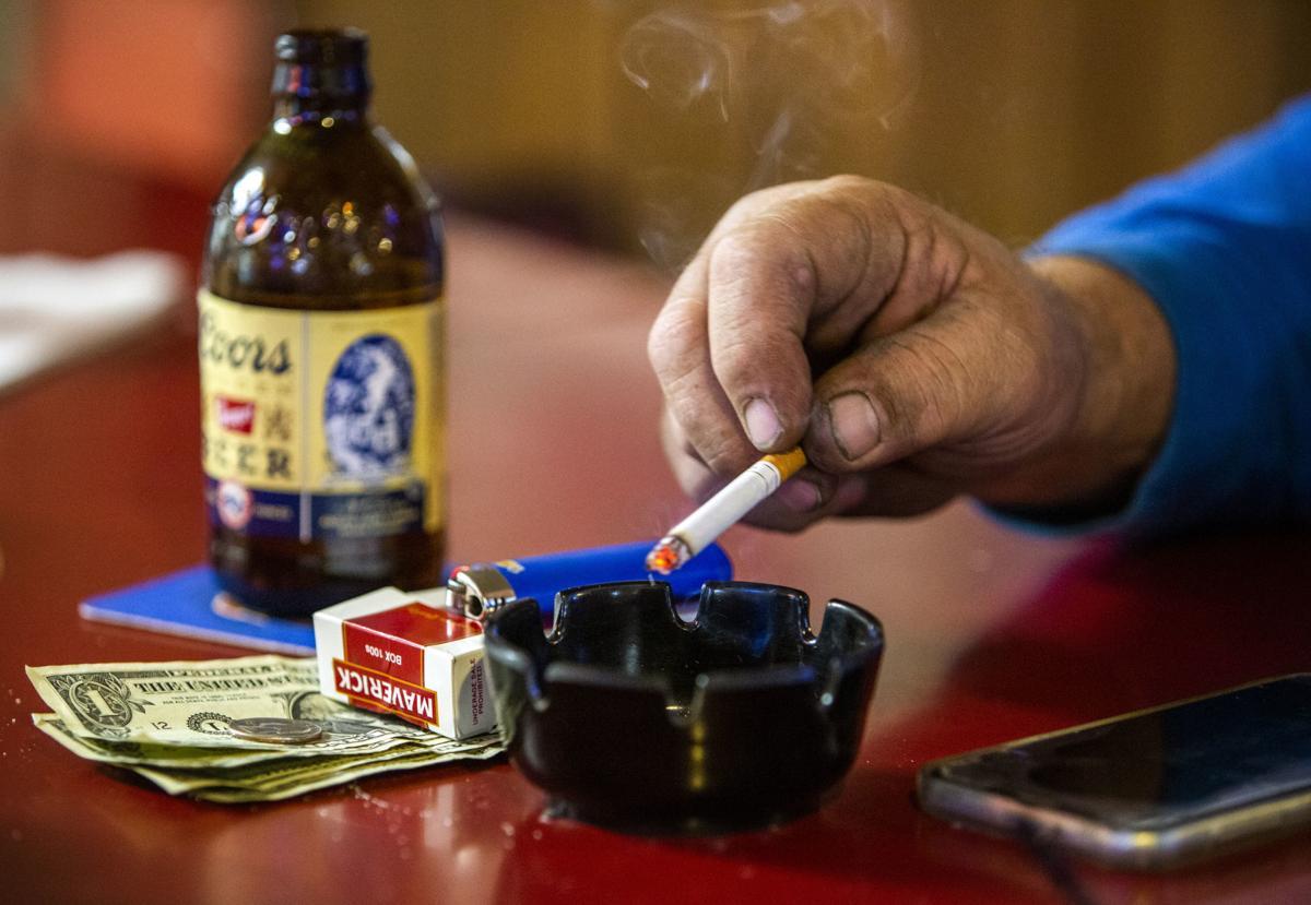 Smoking in bars