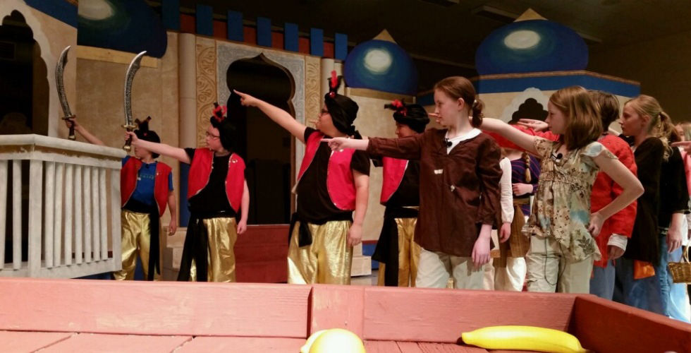 "White Pine Elementary School's Production of ""Aladdin."""