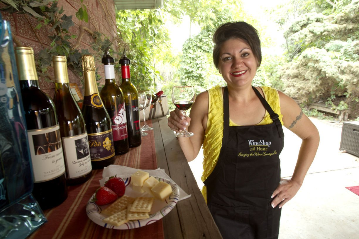 In home wine tasting business