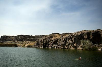 Summer fun at Dierkes Lake