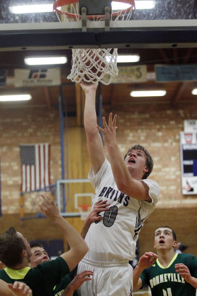 Bonneville at Twin Falls Boys Basketball