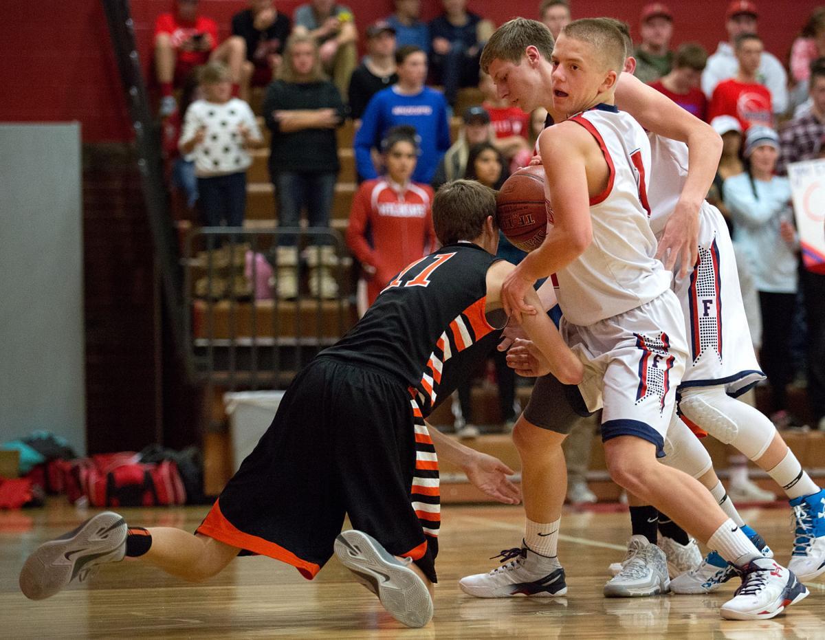 Filer vs. Declo basketball