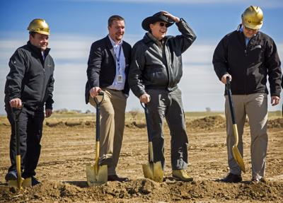 Buhl clinic groundbreaking