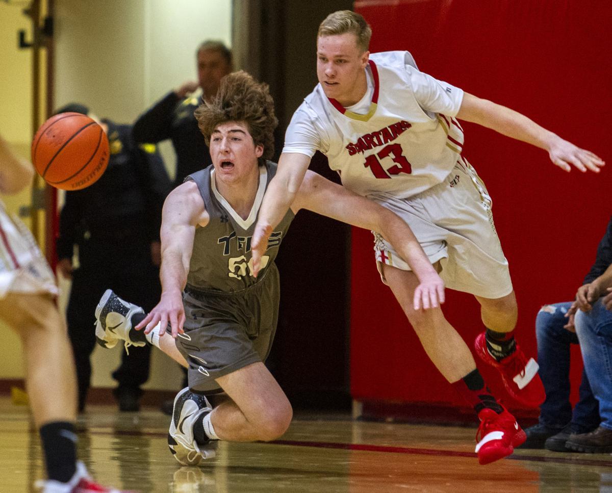 Twin Falls vs Minico basketball