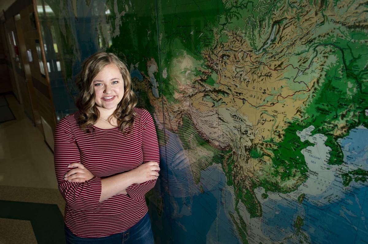 Senior Emily Hepworth