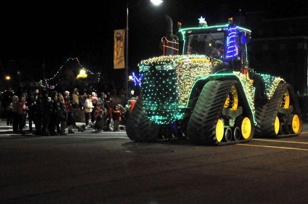Burley Christmas parade