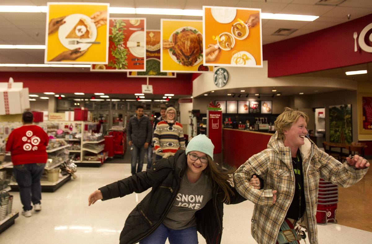 Customers flood Target on Gray Thursday