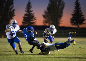 PHOTOS: Valley defeats Raft River 22-12