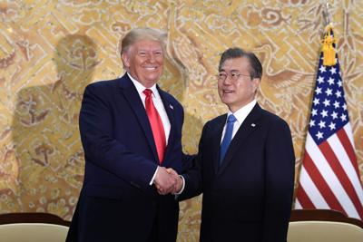 APTOPIX Trump US Korea