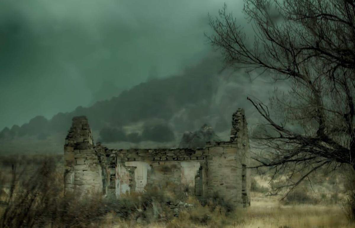 City of Rocks ranch house