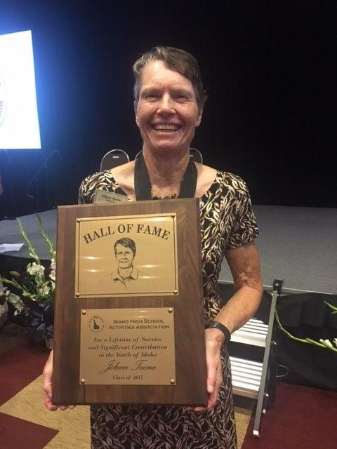 Joleen Toone HOF plaque