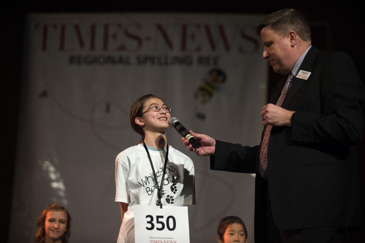 Times-News Regional Spelling Bee