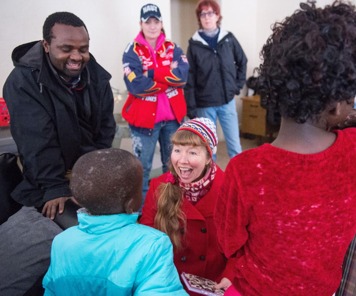Unitarians help refugees settle in