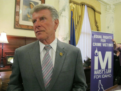 Lawmaker: Fight for Idaho crime victims' rights not over
