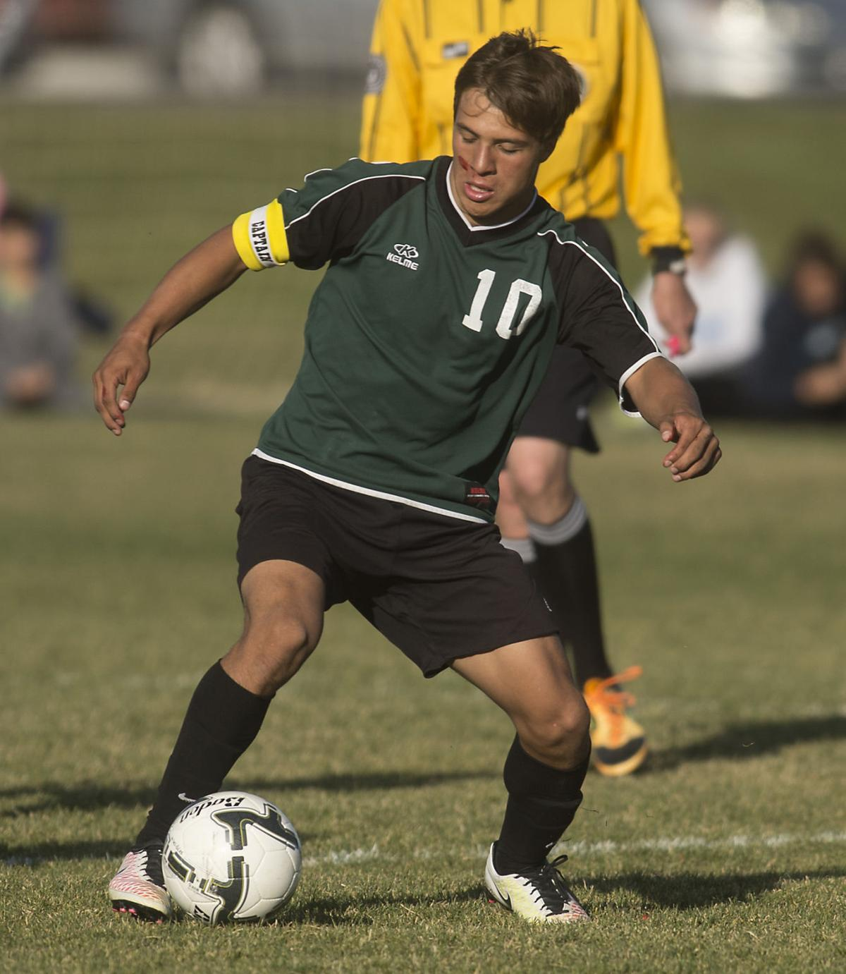 Boys Soccer - Burley Vs. Canyon Ridge