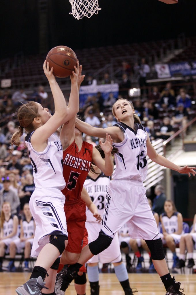 Dietrich vs. Richfield 1A Division II Girls Basketball Champions