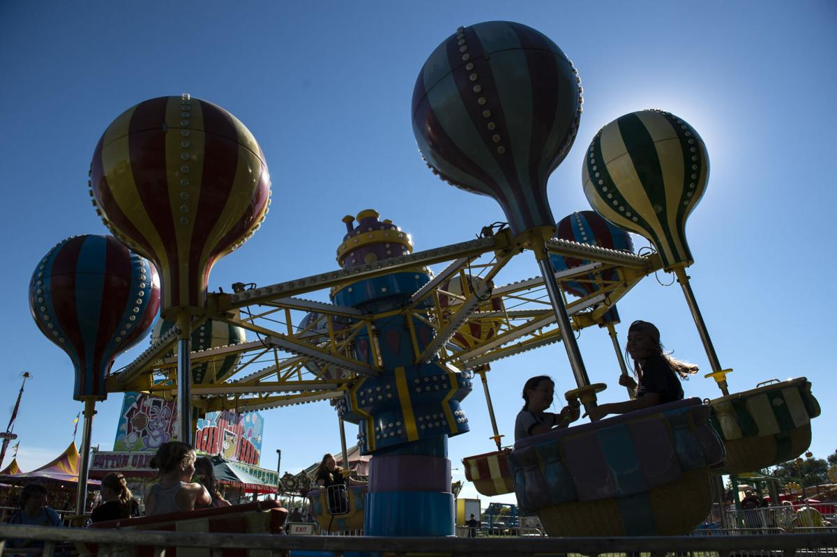 First day of the Twin Falls County Fair