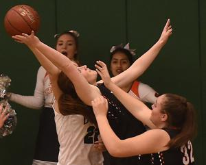 PHOTOS: Girls Basketball - Jerome Vs. Burley