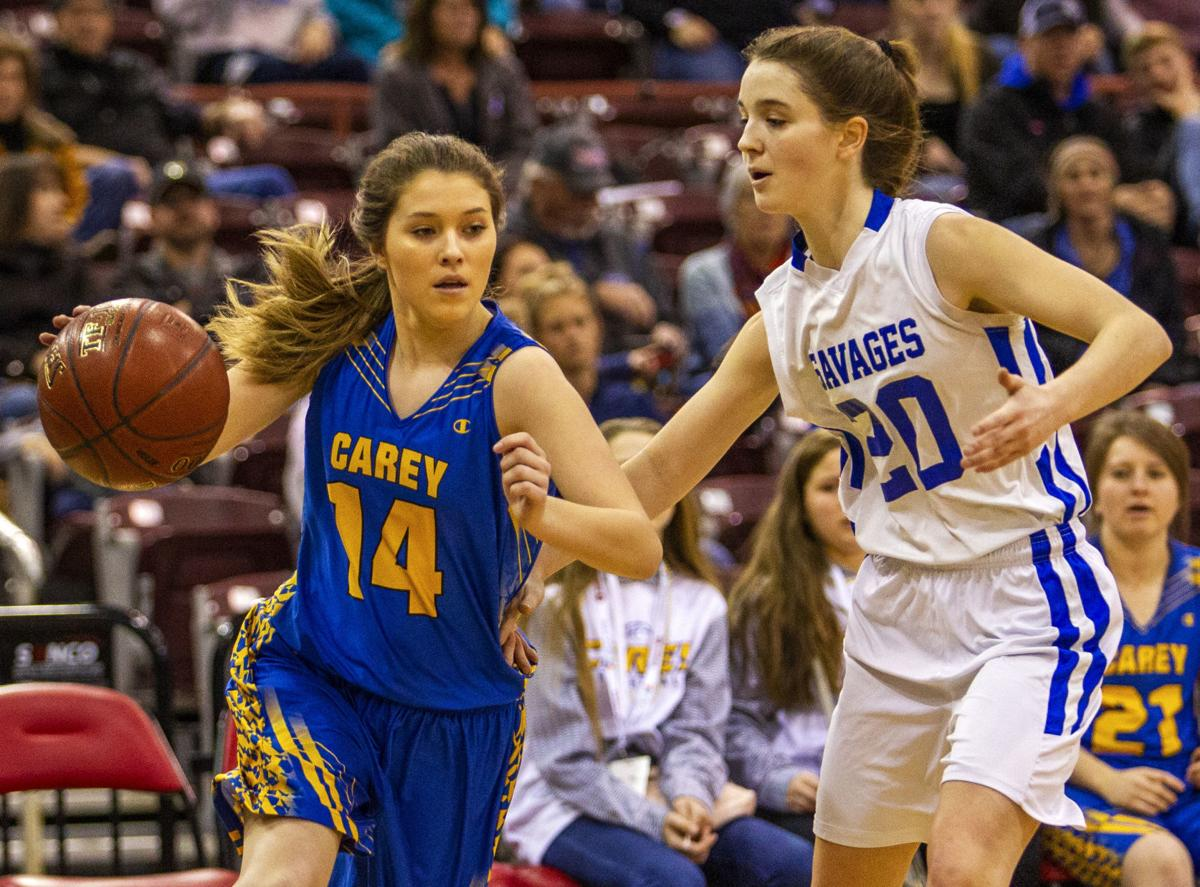 Carey vs Salmon River girls championship
