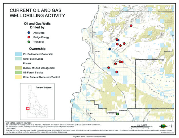 State Gas Wells