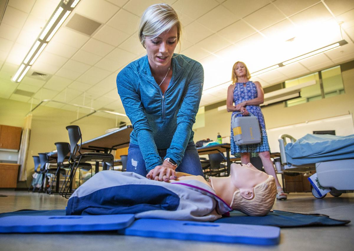 CPR training with a scholarship