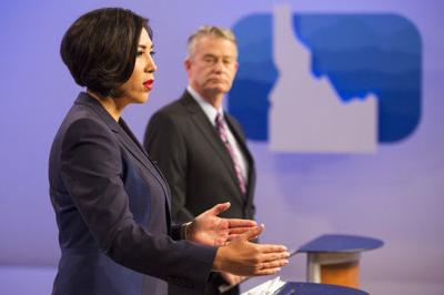 Little, Jordan talk issues at Idaho gubernatorial debate