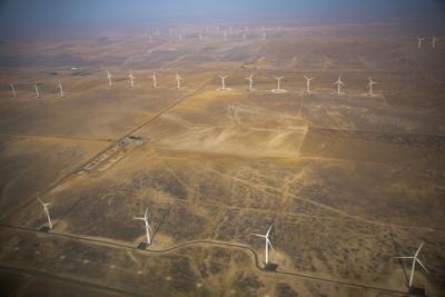 Lava Ridge Wind Proposal flight
