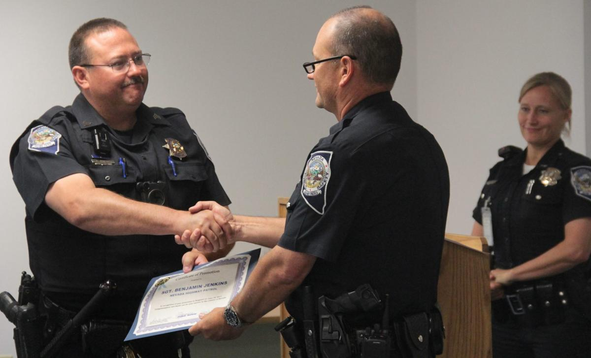 NHP ceremony promotes and retires officers