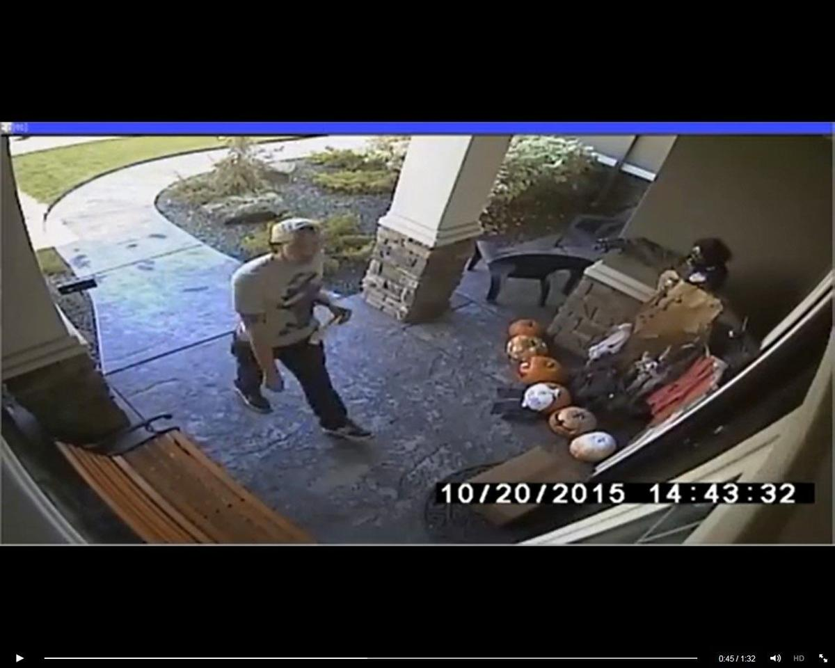 Possible Package Thief