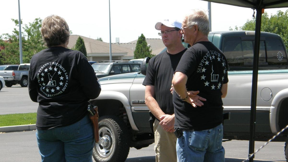 Three Percent of Idaho Members stand guard