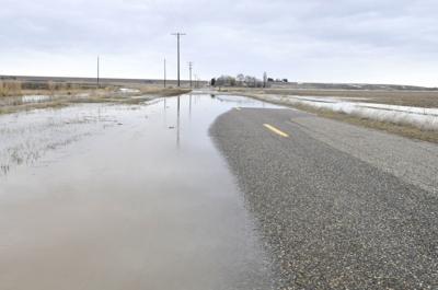Minidoka County roads closed due to flooding