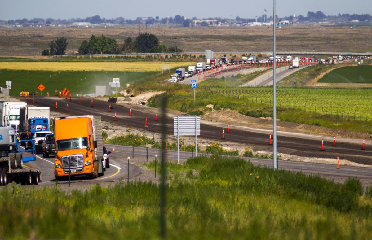 UPDATE: Truck driver dies in I-84 construction zone crash