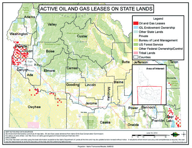 State Gas Leases