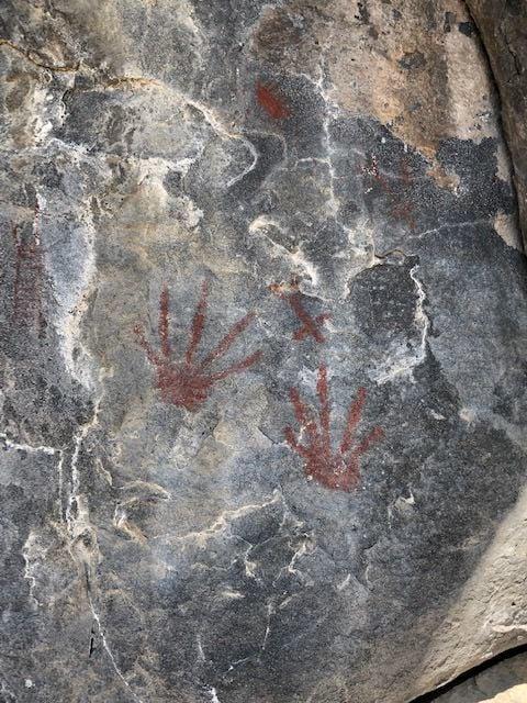 Petroglyphs in Devils Corral