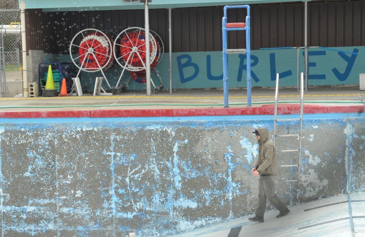Burley pool