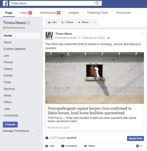Fb Homepage Magicvalley Com