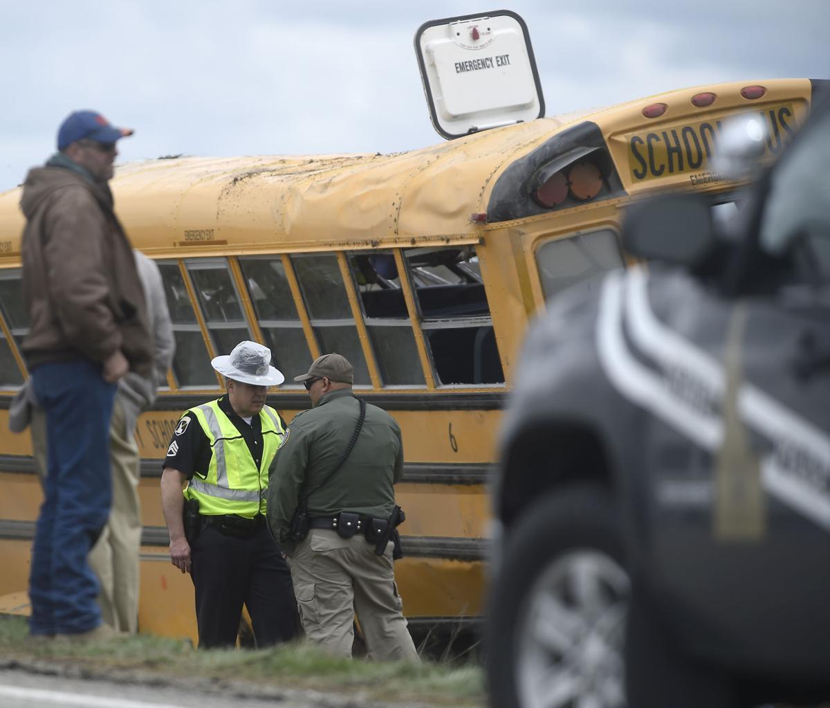 Bus crash carrying Carey Jr. High athletes