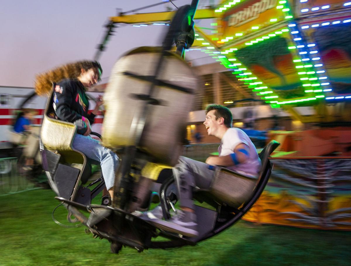 A fun night at the fair