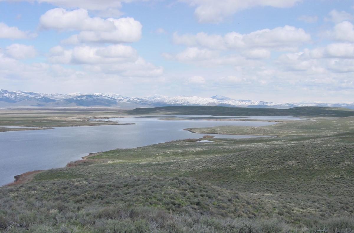 Mormon Reservoir near Fairfield