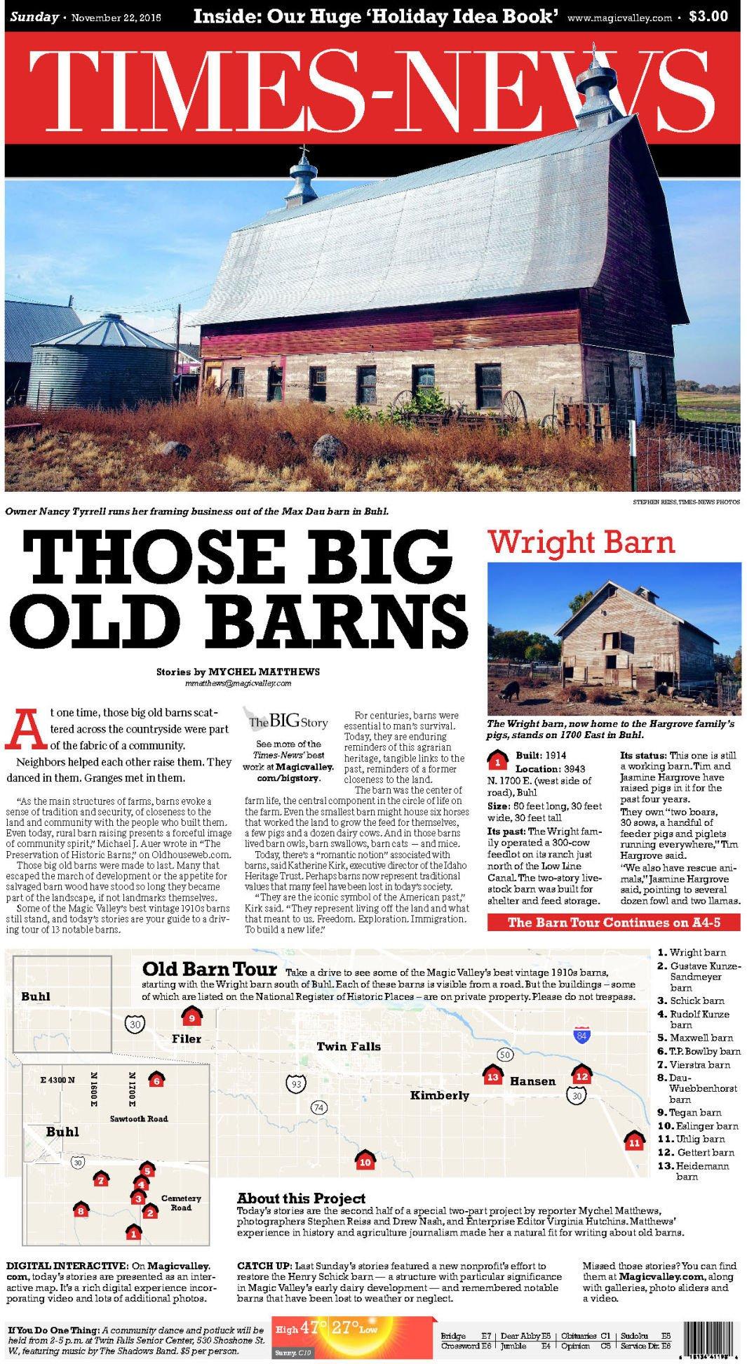 Those Big Old Barns
