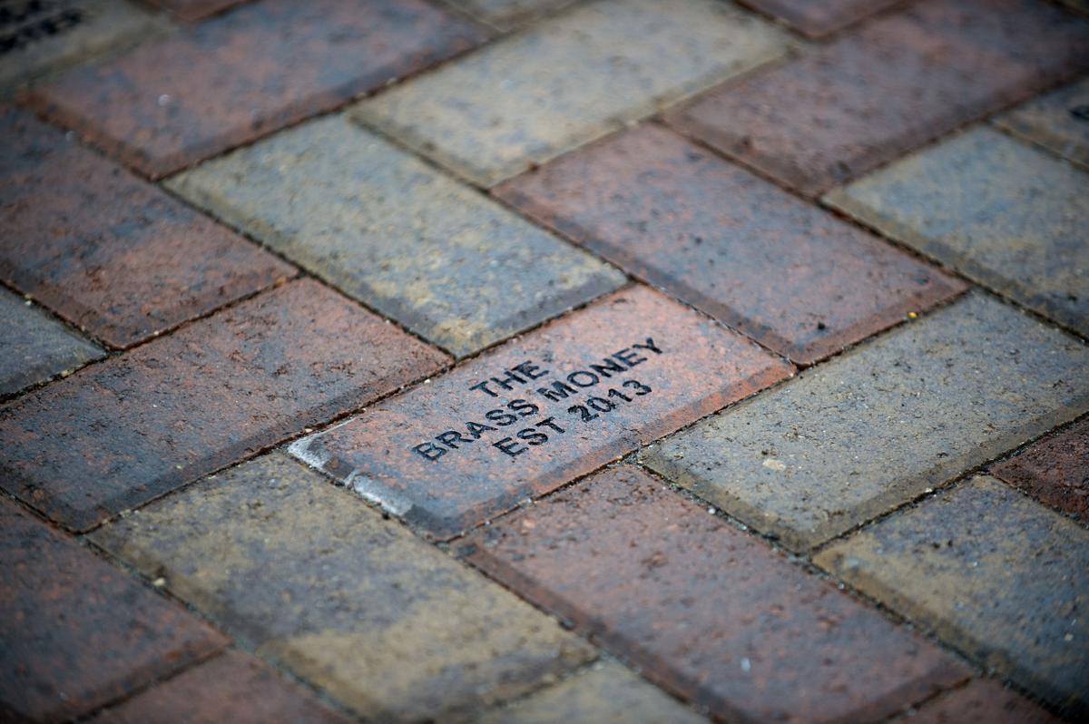 Main Avenue brickwork spelling error