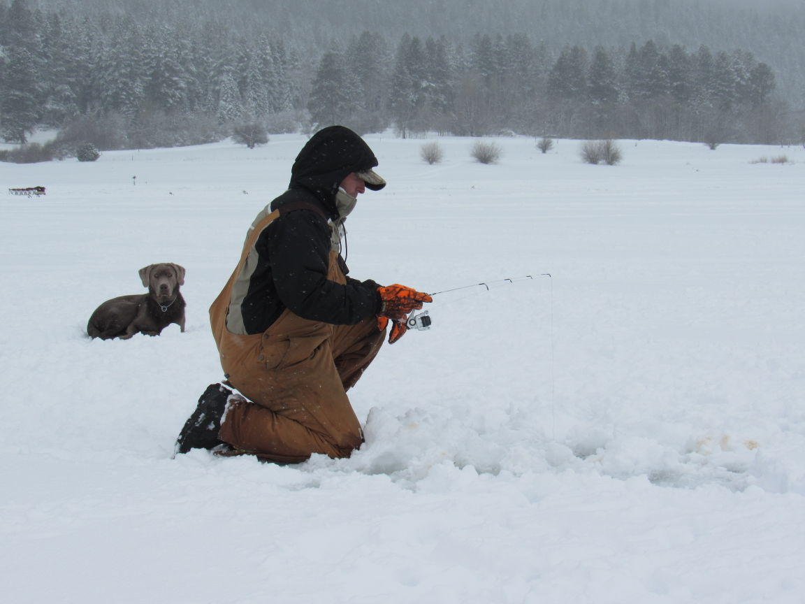 Ice fishing is easier than you think outdoors and for Ice fishing idaho
