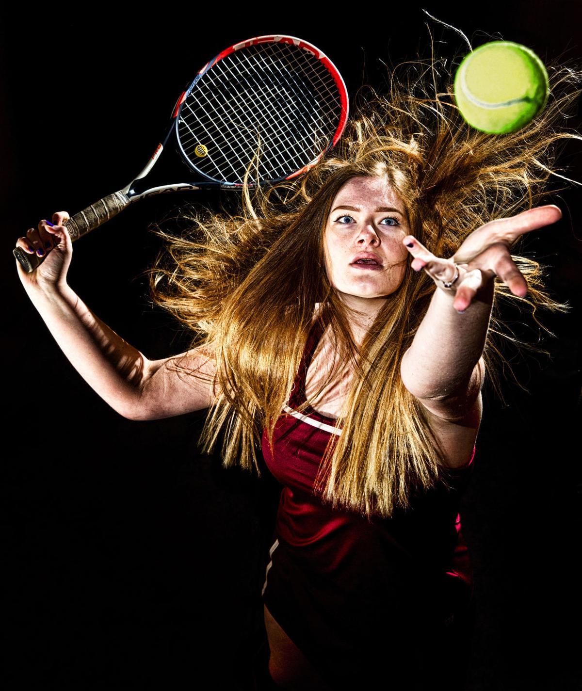 Tennis portrait