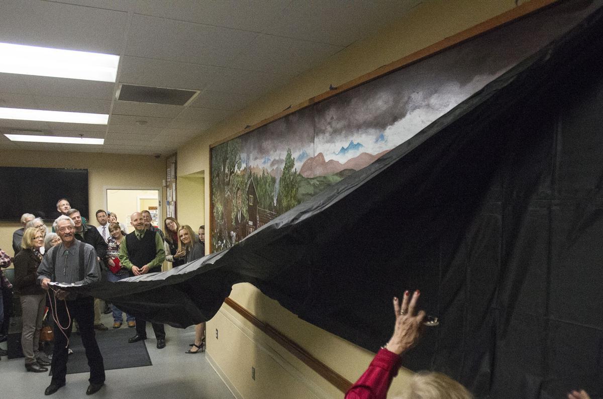 Gary Stone mural at Wellness Tree Community Clinic