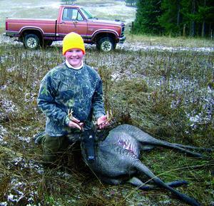 N Idaho Teen Makes A Rare Black Whitetail Deer His First